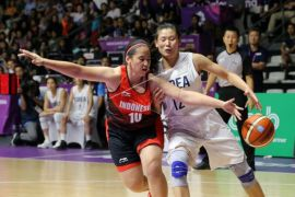 Tim Basket Putri Asian Games Gugup