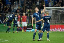 Gol semata wayang Dzeko menangkan Bosnia atas Austria