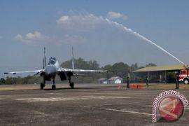 TNI AU Bangun Shelter Untuk Sukhoi SU-35