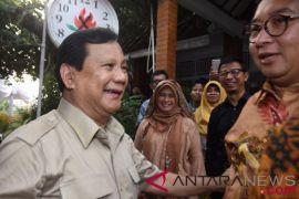 Prabowo Undang Pimpinan Parpol Koalisi Finalisasi Tim Pemenangan