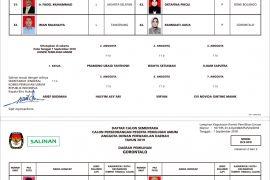Daftar Calon Sementara DPD RI Pemilu 2019