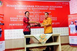 Pemkot Gorontalo Gandeng Telkomsel Wujudkan