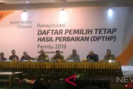 KPU Gelar Rapat Pleno Perbaikan DPT