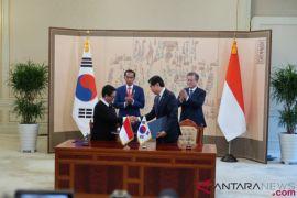 Indonesia-Korea Selatan Tandatangani Enam Nota Kesepahaman