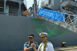 Tiga Kapal Perang Jepang Berlabuh Di Tanjung Priok