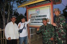 Danrem 133/Nani Wartabone Kunjungi Daerah Terpencil Pinogu