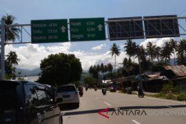 Jalur Bukit Toboli-Palu Macet Total