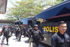 100 Personil Polda Gorontalo-Dokter Menuju Palu