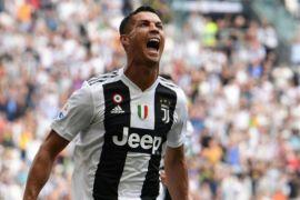 Ronaldo Akhiri Puasa Gol Untuk Juventus