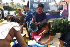 TNI AU Atasi Kekurangan Air Bersih di RSUD Kwandang
