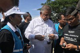 Menteri BUMN Kunjungi Kawasan Rusak Parah Sigi