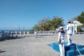 TNI-AL Gorontalo Gelar Upacara Peresmian Kenaikan Pangkat