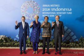 IMF-WB Puji Pesan Jokowi Soal Ancaman Kompetisi Negara Maju