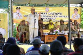 Gubernur Gorontalo Tawarkan Petani Dan Nelayan Asuransi
