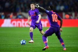 Dikalahkan Red Star, Milner Yakin Liverpool Bisa Menangi Dua Laga Sisa
