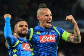 Hasil Dan Klasemen Grup C, Napoli Memimpin Tapi Tiga Tim Masih Berebut Tiket 16 Besar