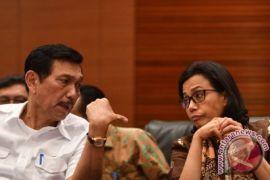 Luhut Pandjaitan Dan Sri Mulyani Datang Ke Badan Pengawas Pemilu