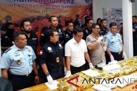 Polda Metro Bongkar Peredaran 50kg Sabu