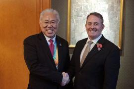 Indonesia-Inggris Sepakat Cegah Perang Dagang AS-China