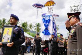 Anggota Brimob Meninggal Di Palu Dimakamkan Kedinasan