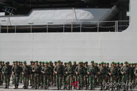 350 Prajurit Pengamanan Perbatasan Kembali Ke Gorontalo
