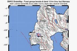 Sesar Saddang Picu Peningkatan Gempa Mamasa