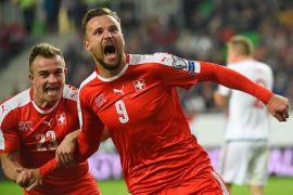 Swiss Menang Besar Atas Belgia