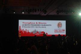 Prabowo Hadiri Dialog Bersama Tionghoa Indonesia
