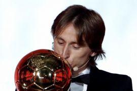 Modric Menangi Penghargaan Ballon d'Or 2018