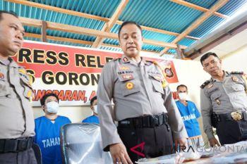 Polres Gorontalo Kota Amankan 21 Paket Sabu-sabu Siap Edar