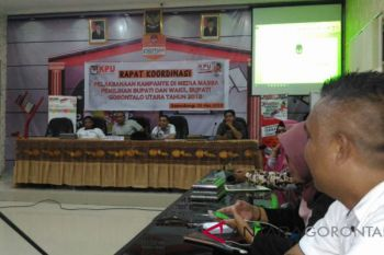 KPU Gelar Rakor Kampanye Di Media Massa
