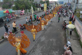 Ribuan Pengunjung Padati Lokasi Gorontalo Karnaval Karawo