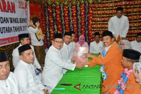 Pendaftaran Bakal Cabup dan Cawabup Gorontalo Utara
