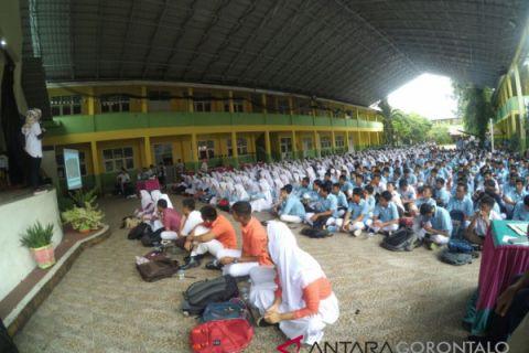 Ribuan Siswa Gorontalo Belajar Strategi Menuju Sukses