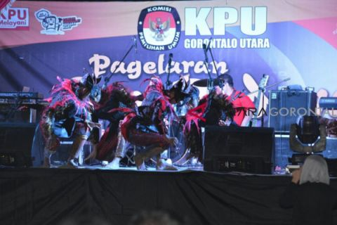Galeri Pagelaran Seni Budaya KPU Gorontalo Utara