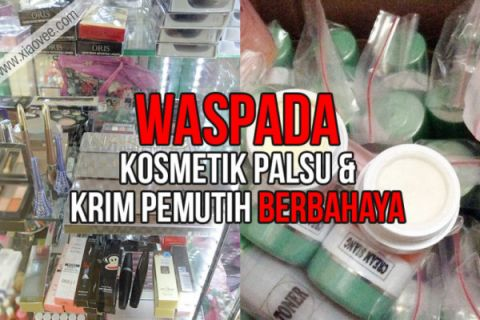 BBPOM Manado Sita Kosmetik Palsu Rp1 Miliar