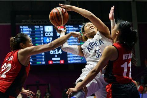 Tim Basket Putri Indonesia Buru Kemenangan Perdana