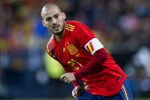 David Silva Pensiun dari Tim Spanyol