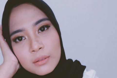 Ada Jilbab Anti-Lepek Karya Restu Anggraini di JFW 2019