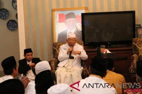 Ma'ruf Amin: Sebut Program Jokowi Dirasakan Masyarakat