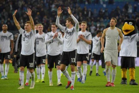 Jerman Kalahkan Rusia 3-0 Dalam Pertandingan Persahabatan