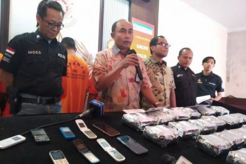 Bareskrim Tangkap Enam Tersangka Pembawa 22 Kg Sabu Asal Malaysia