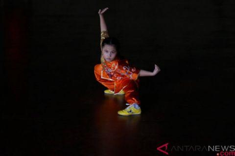 Ratusan Pendekar Cilik Ramaikan Kejuaraan Kungfu Internasional Bali