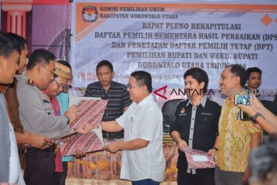DPT Pilkada Gorontalo Utara 82.393 Pemilih