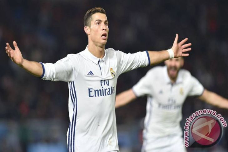 Ronaldo Mengukir Tiga Gol hadapi Sociedad