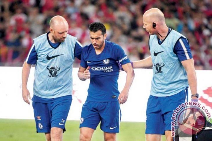 Pemain Chelsea Pedro Dipulangkan Karena Gegar Otak