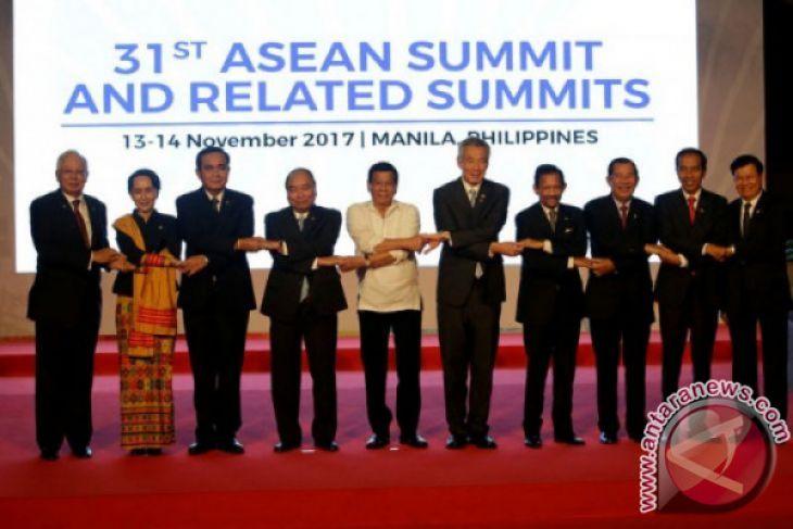 Presiden Duterte resmi tutup KTT Ke-31 ASEAN