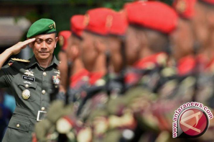 Kasad: TNI Wajib Jamin Keamanan Masyarakat