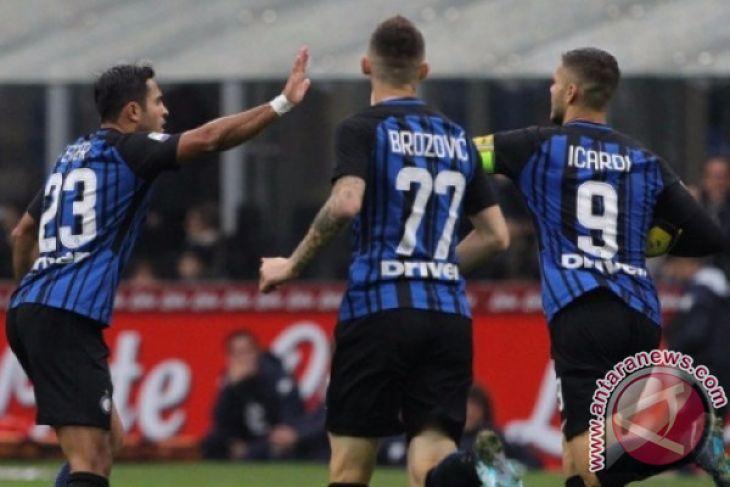 Inter Milan Menyudahi paceklik kemenangan sejak Desember 2017