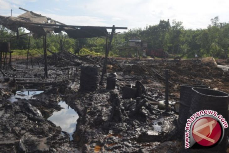 Kepolisian diminta tindak tegas penambang minyak ilegal